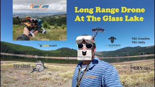 Flying At The Lake With Mini Quad Drone Long Range FPV