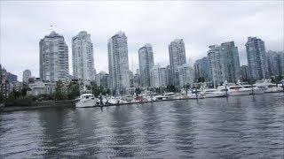 Прогулка по Ванкувер Дымящиеся Часы Остров Паром