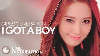 GIRLS' GENERATION - I Got A Boy (Line Distribution)