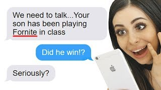 Funniest PARENT - TEACHER Texts !