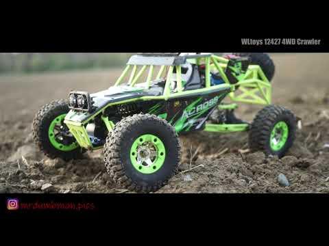 WLtoys 12427 4WD Crawler Cinematic Play Video [Banggood]