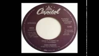 Red Rider - Don't Fight It (1980)
