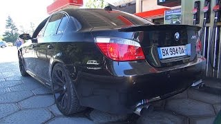 BMW M5 V10 w/ Straight Pipes Exhaust! Amazing Sound!