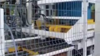 Стационарная автоматическая линия для тротуарной плитки SUMAB R-1500 (Швеция) от компании Строительное Оборудование - видео 3