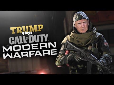 Trump Plays Modern Warfare! (Voice Troll)