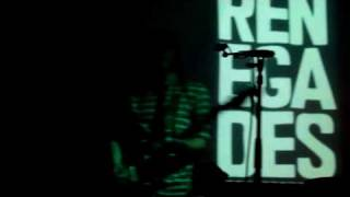 Renegades - White Lines (Live)