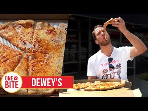 Barstool Pizza Review - Dewey's Pizza (St. Louis)