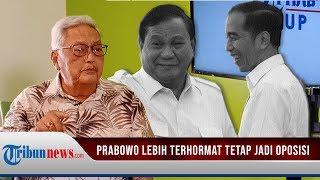 Mudrick Sangidoe Nilai, Prabowo Subianto akan Lebih Terhormat jika Jadi Oposisi