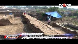 Woow! Ditemukan Situs Peninggalan Majapahit Berupa Struktur Batu Kuno Sepanjang Ratusan Meter