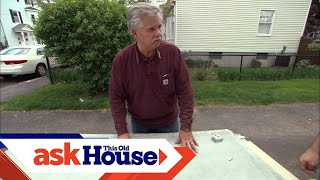 How To Replace A Vinyl Floor With Ceramic Tile | Ask This Old House