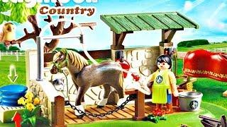 Horse Care Station / Stacja Opieki nad Końmi 5225 - Country - Playmobil