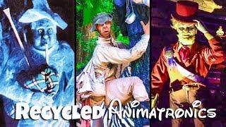 Top 10 Recycled Disney Animatronics Pt 2