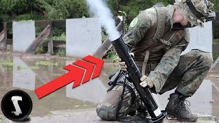 CHEATERS Get Caught by Airsoft MORTAR BARRAGE!! (75mm Mortar)