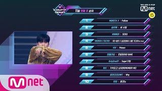 What are the TOP10 Songs in 1st week of November? M COUNTDOWN 191107 EP.642