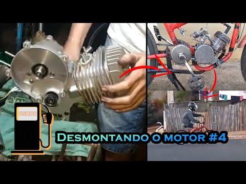 Como desmontar um motor de bicicleta motorizada, Parte 4 parte final   🛠 🛠 🛠