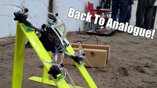 Back To Analogue Racing? - Betaflight 4.2 Testing - HaloRC Rah - Gemfan 51466