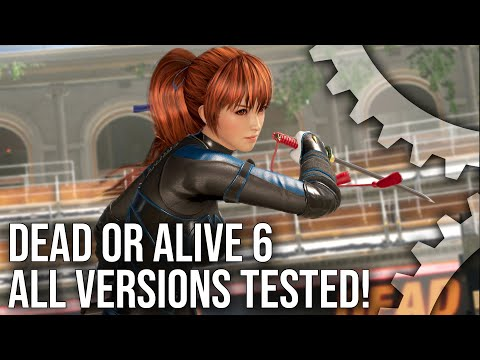 Dead or Alive 6 Tech Analysis: PS4/Pro/Xbox One/X/PC - Every Version Tested!