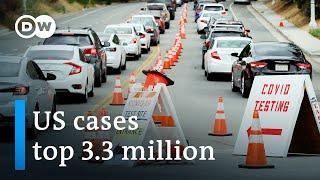 California Shuts Down Again As Coronavirus Cases Surge   DW News