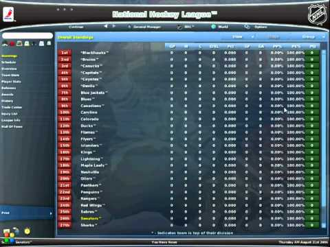 nhl eastside hockey manager pc