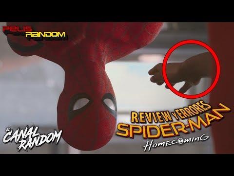 Errores de peliculas Spider-Man Homecoming Critica y Resumen de Spiderman