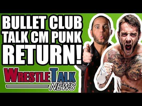 ROH Backstage FIGHT! Bullet Club Talk CM Punk Wrestling RETURN! | WrestleTalk News Apr. 2018
