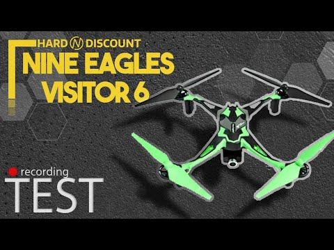 Test Drone Galaxy Visitor 6 - Hard-n-discount