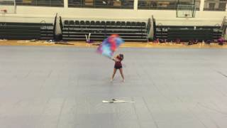Blown Away Color Guard Routine