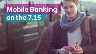 Mobile Banking on the 7.15 - The Royal Bank's 'busiest branch'