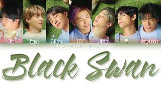 BTS (防彈少年團) - BLACK SWAN (Japanese Version) Lyrics (Color Coded Lyrics Eng/Rom/Kan)