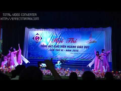 Tiết mục múa: Tình yêu tiếng mẹ - Giải ba Hội thi tiếng hát giáo viên tỉnh Kiên Giang năm 2015