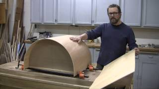 How to Make a Curved Cabinet Door