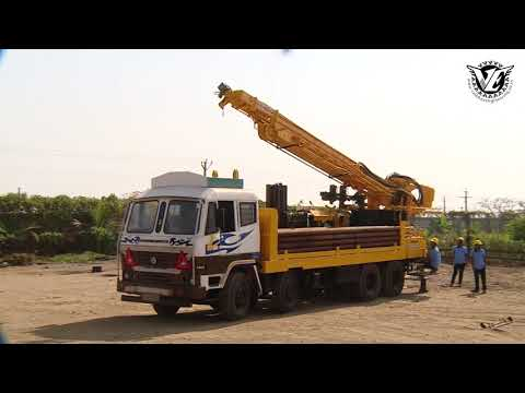 Ve1000 DTH Normal Water Well Drilling Machine