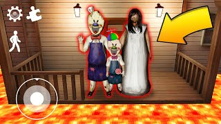 ESCAPE FROM SAFEST FAMILY HOUSE!! Ice Scream 3 And Granny Survival Challenge In Minecraft