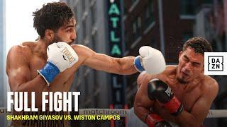 FULL FIGHT | Shakhram Giyasov vs. Wiston Campos