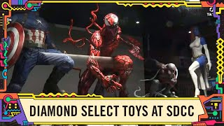 Marvel Toys in the Diamond Select Booth with Marvel at SDCC 2019!