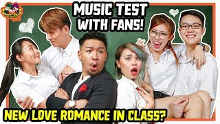 Cute Couple in Love! Music Test with Fans!