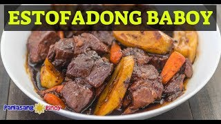How to Cook Estofadong Baboy (Sweet Pork Stew)