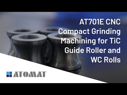 AT701E CNC Compact Grinding Machining for TiC Guide Roller and WC Rolls