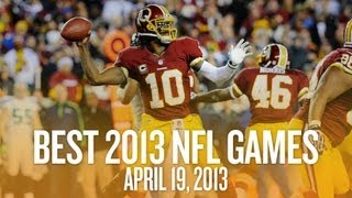 2013 NFL Schedule: Biggest Early Matchups (The Daily Win) thumbnail
