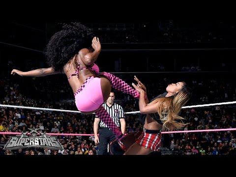 Naomi vs. Cameron: WWE Superstars, Oct. 9, 2014