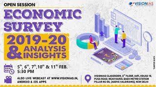 Open Session on Economic Survey 2019-20 | Part 3