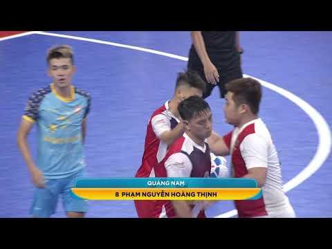 Giải futsal VĐQG 2019: Quảng Nam vs Sanvinest S.Khánh Hòa (2-6)