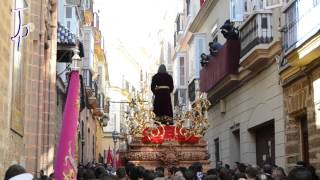 preview picture of video 'Domingo de Ramos - Semana Santa Cádiz 2015 - Programa 1|Borriquita, Despojado, Humildad, Cena, Penas'