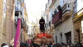 preview picture of video 'Domingo de Ramos - Semana Santa Cádiz 2015 - Programa 1|Borriquita, Despojado, Humildad, Cena, Penas'