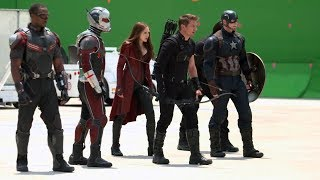 Making Of Captain America: Civil War | Behind the scenes