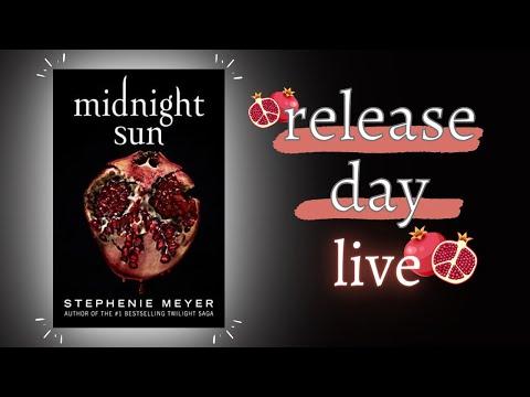 Midnight Sun Release Day LIVE | Stephenie Meyer