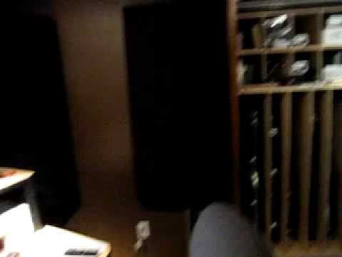 Small Home Studio Acoustic Treatment with Bass traps