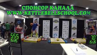 Kettlebell Marathon Arnold Classic 2018 Ivan Denisov. Гиревой марафон в Австралии Иван Денисов