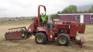 Ditch Witch Trencher Start Up Procedures 1
