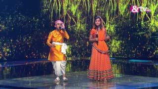 Vishwaprasad and Nishtha - Radha Kaise Na Jale - Liveshows - Episode 26 - The Voice India Kids